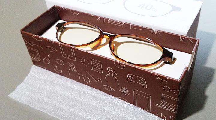 WEBデザイナーがジンズのブルーライトカットPC用メガネを使ってみる
